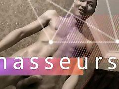 Asian Nude Male Massage