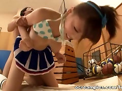 Asian amateur Mao Hamasaki demonstrated a blowjob in pov