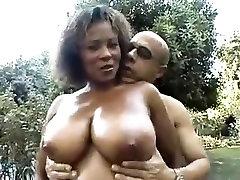 Sexy Ebony Mature - Big Boobs, Hairy Pussy