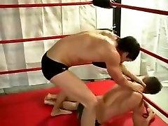 Crazy male in horny fetish gay sex clip