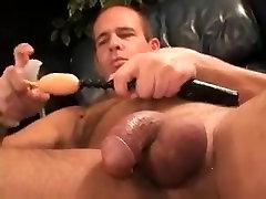 Exotic male in incredible handjob, bears gay porn video