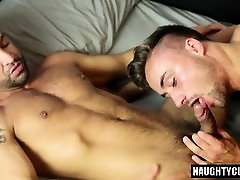 Tattoo gay anal sex with facial