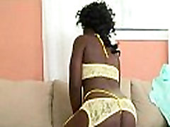 Round and Black Sexy Ebony Godess Ride Fat Dick 17