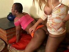 Busty ladyboy penetrates a hot chap
