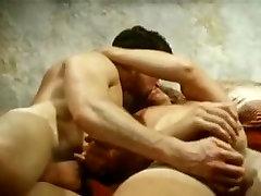 Exotic male in best vintage, bareback gay xxx scene