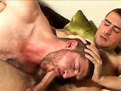 hot cock sucking and assplay with two horny lads