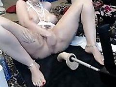 Big size girl various masturbations on SexoWebcam.online