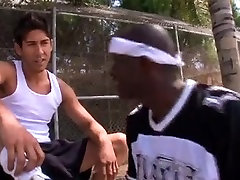 Hot Interracial Gay Cock Sucking And Butt Fucking