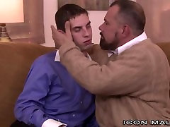 IconMale Hung Twink Comforted by Daddys Cock