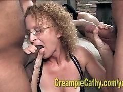 Creampie Fuckfest Gangbang