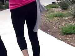 Teen Black Leggings Ass