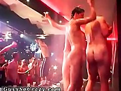 Free gay male group anal sex movie The Dirty Disco soiree is reaching