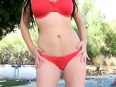 Exotic Big Natural Tits video with Big Tits,Brunette scenes