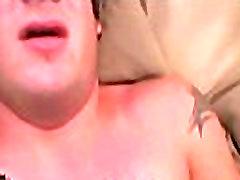 Gay sucks pecker licks balls