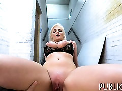 Katy Jayne agrees to flash her big boobs and have sex