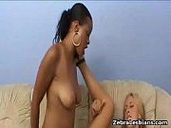 Zebra Girls - Anal Lesbian Strapon Deep Fuck Video 19