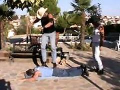 2 Cowboys Jump on Matt