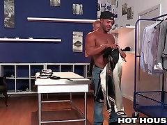 Micah Brandt Slams Redhead with Big Black Cock