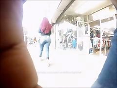 Candid Teen Perfect Bubble Booty in Jeans