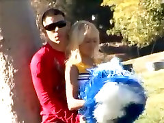 Crazy Cheerleaders video with Blonde,College scenes