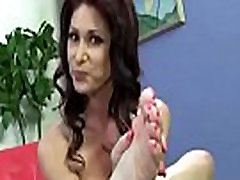 Black Meat White Feet - Interracial Foot Fetish XXX Video 28