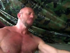 Horny gay movie with Sex, Military scenes