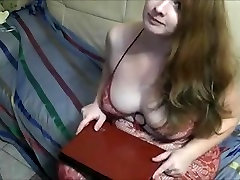 German sweet Bbw redhead fucked and facialized