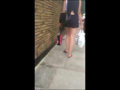 Hottie Bare Legs Tight Ass