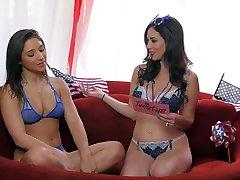 Best pornstar Abella Danger in Amazing Lingerie, Interview porn movie