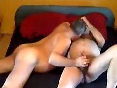 Bear Daddy Breeding Lover in Home