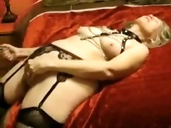 Amazing Homemade clip with Stockings, Mature scenes