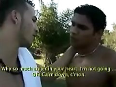 Frottage and Rubbing each other bulges in speedo sunga