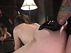 Slave trainer anal fucks brunette slave