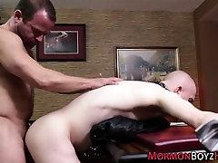 Gay mormon rides cock