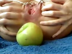 Bizarre anal insertions