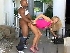 Exotic pornstar Jordan Kingsley in amazing interracial, mature sex scene