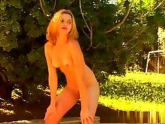 Hottest pornstar in crazy masturbation, solo girl porn clip