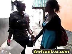 Lesbian busty Ebonies