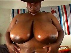 BBW BIG TITS SAGGY TITS EBONY GIRL SEX SCENE 4