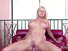 Extrem Hot Step-Mom Seduce Step-Son to Fuck her