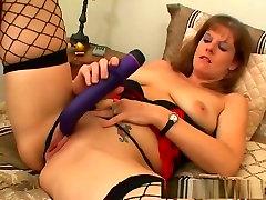 Crazy pornstar Rachel Rains in amazing masturbation, mature porn clip