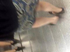 Asian black panties
