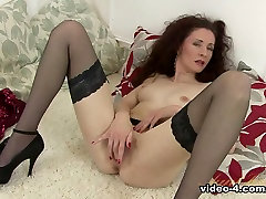 Amazing pornstar in Best Stockings, Small Tits porn movie