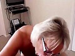 Mature big natural breast blowjob POV