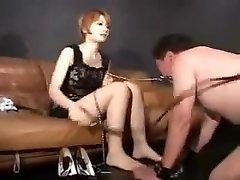 Hottest amateur BDSM, Femdom sex scene
