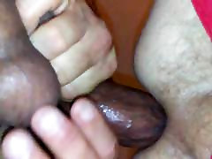 Big dick B brings a hung 21-year-old with to tag my barr ass