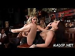 Lustful sex party full of babes