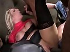 White girl convinced to swallow cum from black cock 24