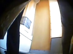 Hidden camera in train toilet - 2