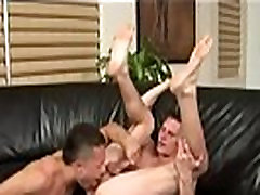 Gay twinks big lips Paulie Vauss and Brody Grant strike it off right